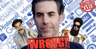 Thumbnail for Sacha Baron Cohen is Wrong About Everything - #PropagandaWatch