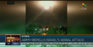 Thumbnail for Syria repells Israel's aerial attack