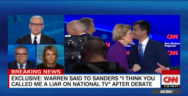 Thumbnail for Warren Sanders debate handshake moment (audio)