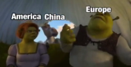 Thumbnail for China America and Europe chill in a cart