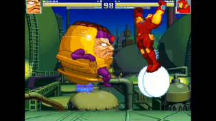 Thumbnail for M.O.D.O.K vs Iron Man - MUGEN (Gameplay) S1 • E2