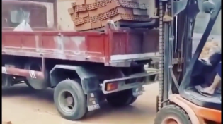 Thumbnail for Brick loading in China