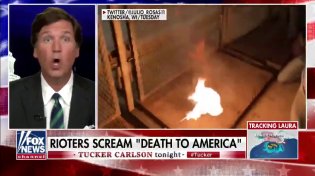 Thumbnail for Tucker Carlson's report on the two goodified Burn Loot Murder terrorists who tried to kill the Kenosha Kid.