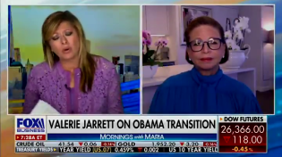 "Thumbnail for Maria Bartiromo Tears Into Lying Valerie Jarrett Over Obama and Biden's Involvement In Spying On Trump Campaign: ""You say you knew nothing about it? You were President Obama's right-hand!"""