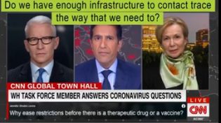Thumbnail for Dr. Deborah Birx accidentally reveals who's running the Coronavirus show