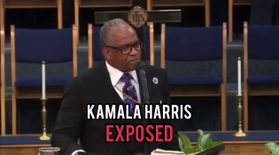 Thumbnail for Black Pastor exposes Kamala after she locked up THOUSANDS of black men