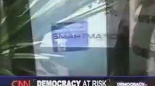 Thumbnail for Jew-owned Fake News CNN has ordered Nosebook and Twatter to remove this video. So here it is. CNN reporting on Smartmatic in 2006.